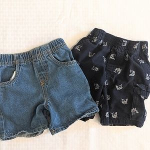 Two Pairs of 2t Shorts